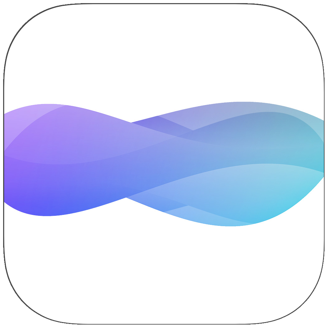The iOS app icon for snd.wave